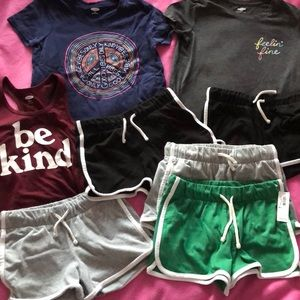 Girls Old Navy lot NWT NWOT girls 8 medium